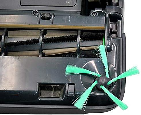 6 accesorios para Vorwerk VR200 3 filtro HEPA + 4 cepillos laterales Set: Amazon.es: Hogar