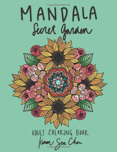 Mandala-Secret-Garden-A-Stress-Relieving-Coloring-Book-For-AdultsPaperback--April-3-2020