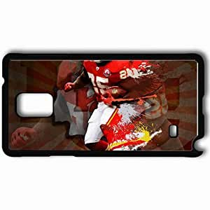 Personalized Samsung Note 4 Cell phone Case/Cover Skin 14452 jamaal charles by r0maint d354aw8 Black hjbrhga1544