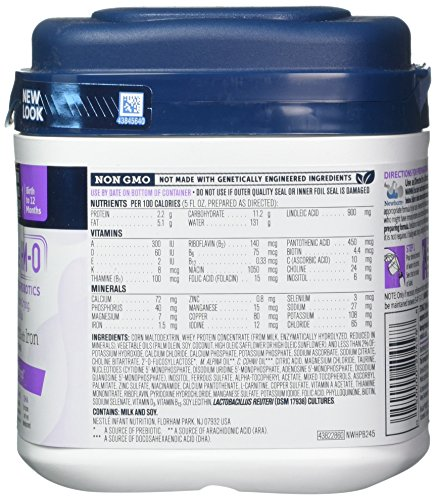 Gerber Good Start Soothe (HMO) Non-GMO Powder Infant Formula Stage 1, 22.2 Ounces (Pack of 6), One Month Supply by Good Start (Image #6)