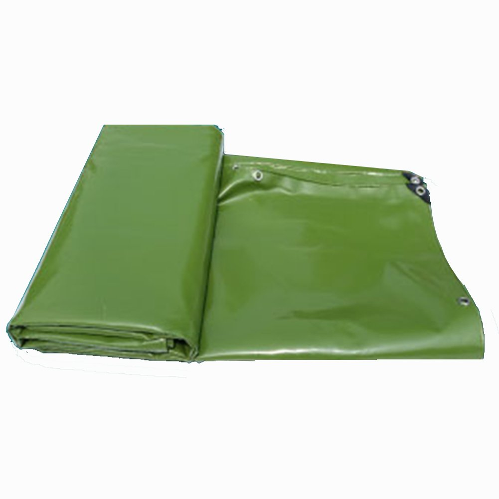JIANFEI オーニング 防水 耐寒性 高強度気密性良好PVC、厚さ0.55mm 4色カスタマイズ可能 (色 : Green, サイズ さいず : 3x8m) B07FPB5M3D 3x8m|Green Green 3x8m