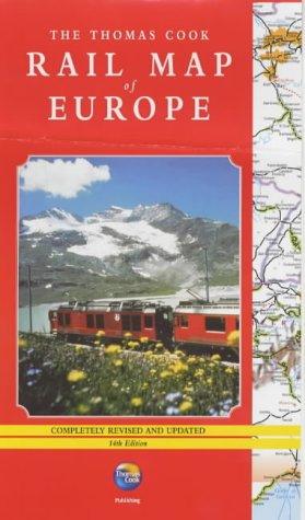 Rail Map of Europe (Travel Essentials)