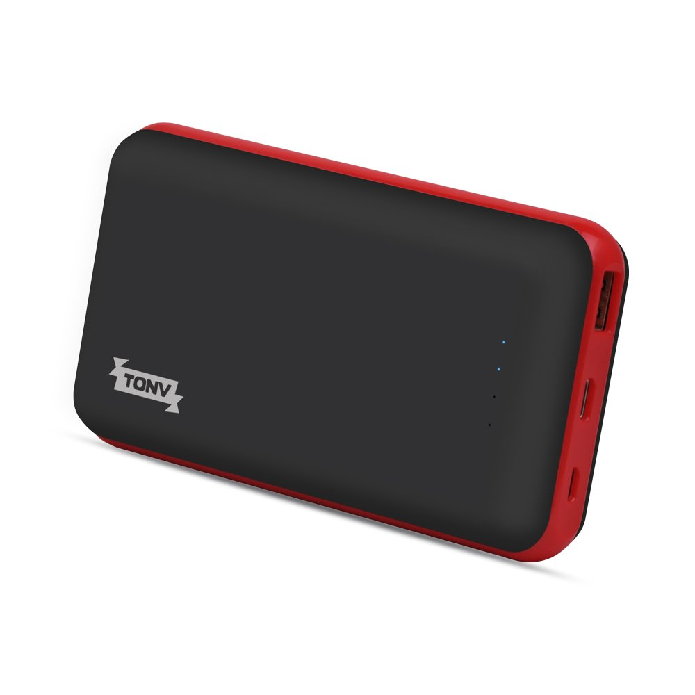 Tonv Portable Power Banks 20000mah Support Quick Charge 3.0 Compatible with MacBook and Smartphone