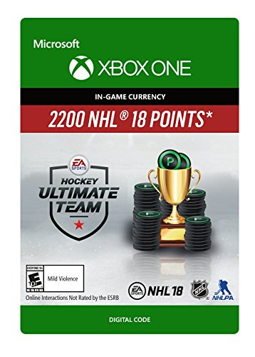NHL 18 Ultimate Team NHL Points 2200 - Xbox One [Digital Code] by Electronic Arts