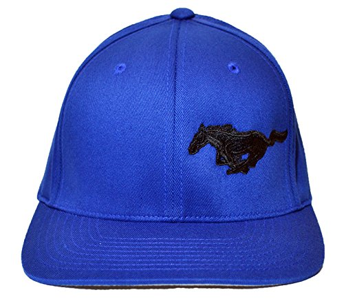 Price comparison product image Ford Licensed FlexFit Hat Mustang Pony Logo (S / M