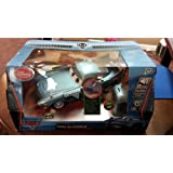 CARS 2 - RC TRANSFORMING FINN McMISSILE w/ LIGHTS & SOUNDS