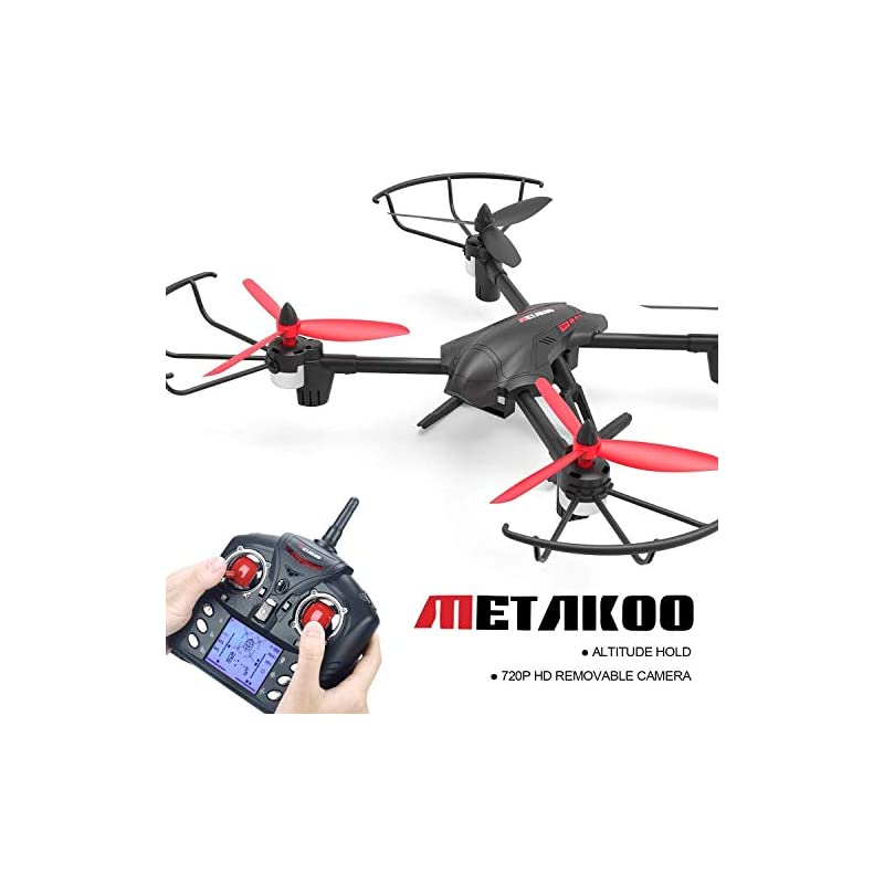 Quadcopter Drone, Metakoo D1 RC Drone wi