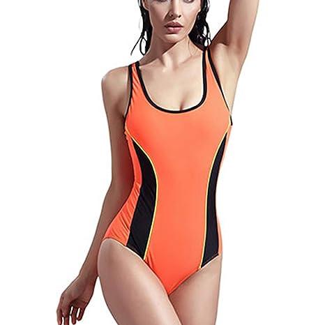 miglior servizio 6c527 75452 GYLFDC Costume Intero da Donna, Costumi da Bagno Sportivo, Costumi ...