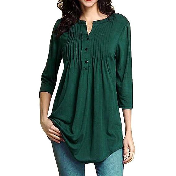 ... para Mujer Verano Camisetas Mujer Camisas Mujer Tops Mujer Monos Mujer Verano Tallas Grandes Mujer Blusas y Camisas-23: Amazon.es: Ropa y accesorios