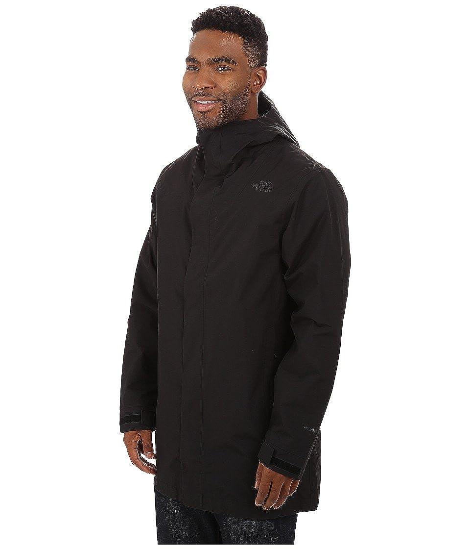 52e3ba2a2 Amazon.com: The North Face Men's El Misti Trench Coat, TNF Black SM ...