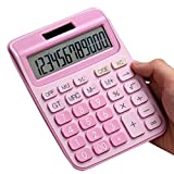 Regular Calculator with Two-Way Power - Girls Pink