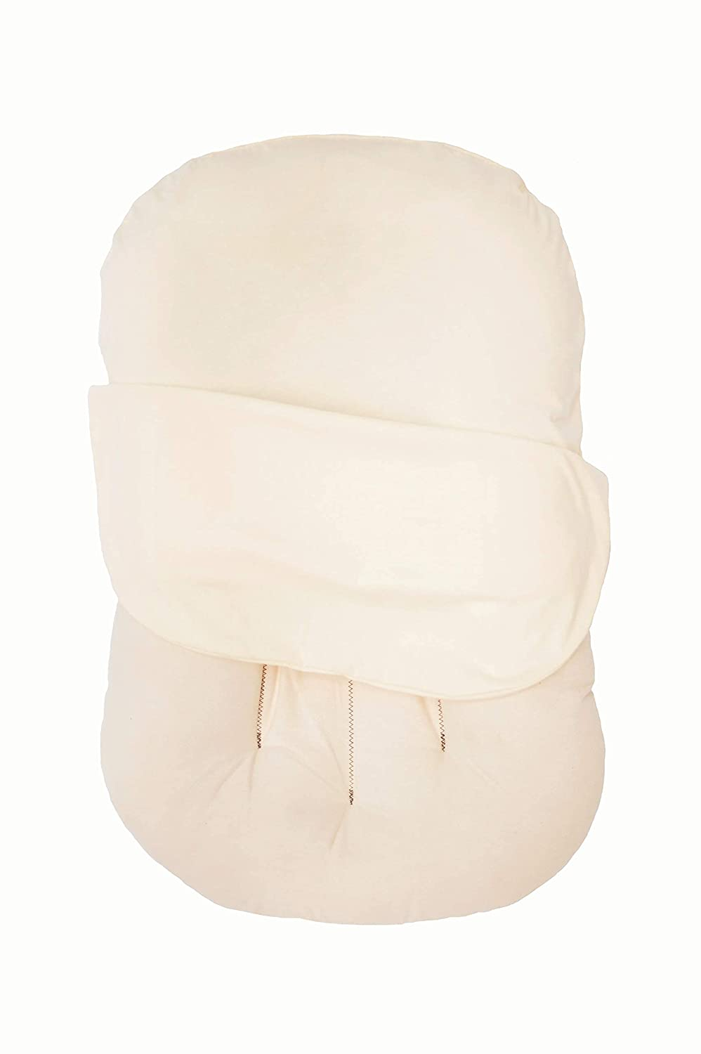 NoomiNest Baby Lounger Cover for SnuggleMe Organic | 100% GOTS Organic Cotton (Buttercream)