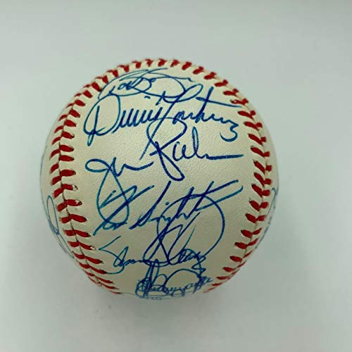 Beautiful Cal Ripken Jr Rookie 1982 Baltimore Orioles Team Signed Baseball JSA