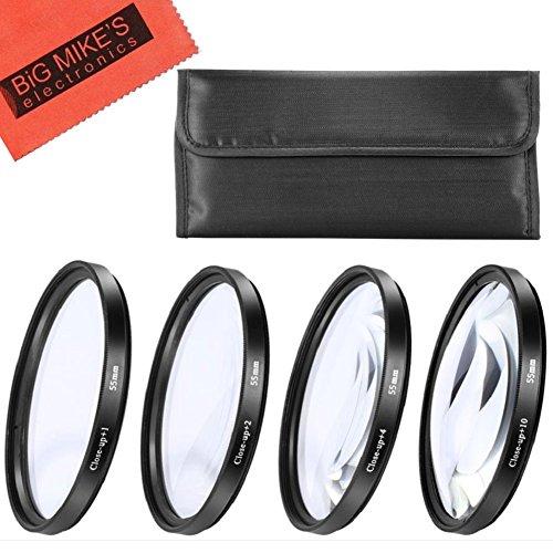 55mm Close-Up Filter Set (+1,