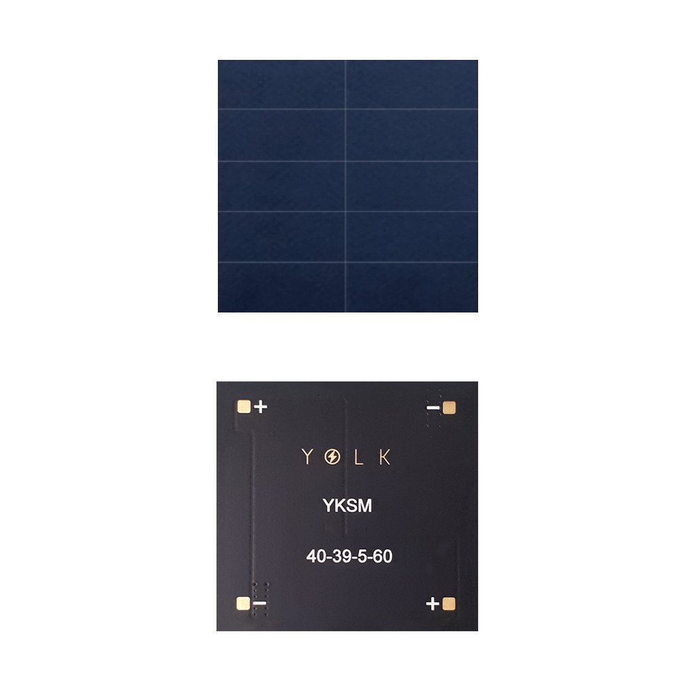 5V 60mA cell 23.7% cell efficiency for IoT, DIY, RV, offgrid, smart watch, wearables, small devices with mini thin lightweight photovolatic PV monocrystalline solar module