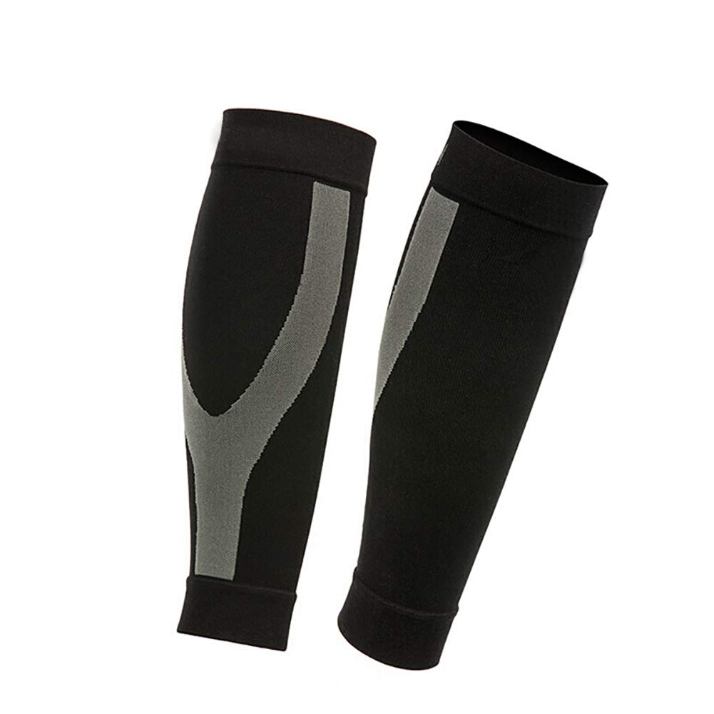 GSSHX Knee Support, Compression Skid Cover Running Walking Basketball Bike and Knee Safety Pain Relief Sports Injury Rehabilitation and Protection (Size : L, Style : A)