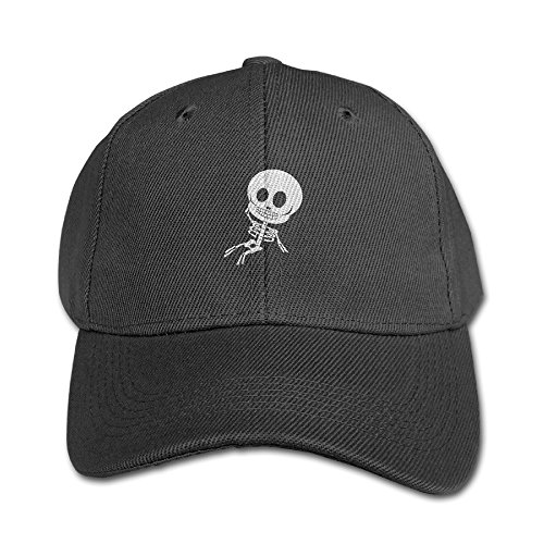 LBLOGITECH Silly Skeleton Youth Hat Lightweight Kids Cotton Peaked Baseball Cap