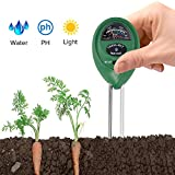 Are you still troubled by that don't know when need to water your plants, don't know what kinds of soil is good for plants grow, don't know the light is suitable for plants grow or not?   HiGO 3 in 1 Soil Tester will tell your the answers!   Specifi...
