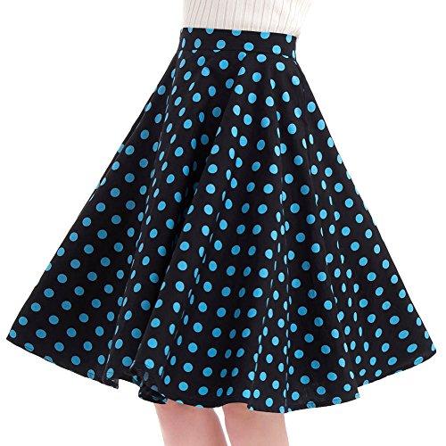 50s circle skirt dress - 9