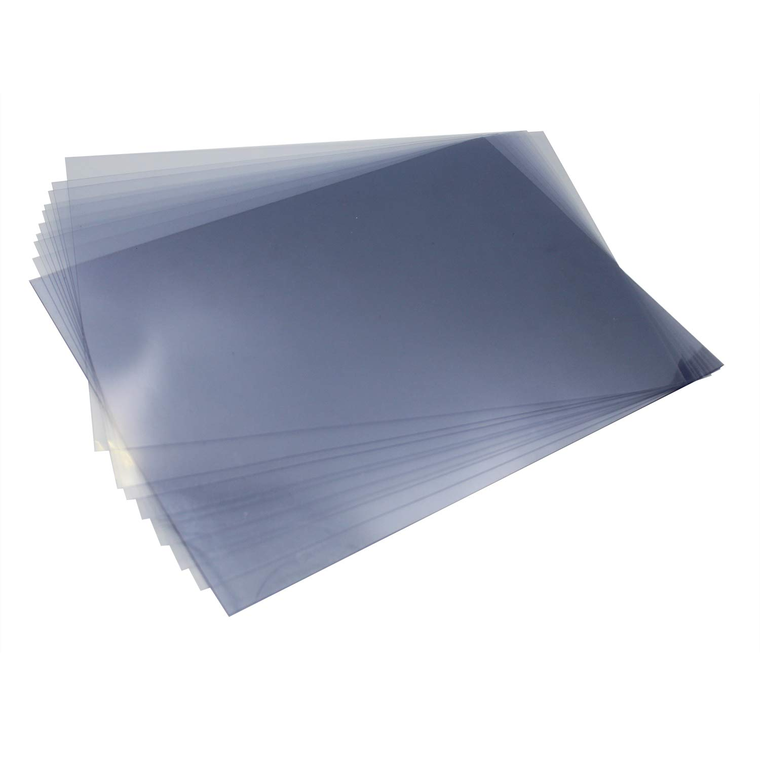 8 Mil Letter Binditek Clear PVC Binding Presentation Covers,PVC Report Cover for Business Documents School Projects 8-1//2 x 11 Inches Pack of 100