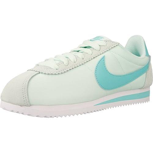 Calzado deportivo para mujer, color Azul , marca NIKE, modelo Calzado Deportivo Para Mujer NIKE CLASSIC CORTEZ NYLON Azul: Amazon.es: Zapatos y complementos