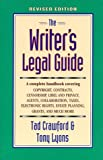 The Writer's Legal Guide, Tad Crawford and Tony Lyons, 0927629135