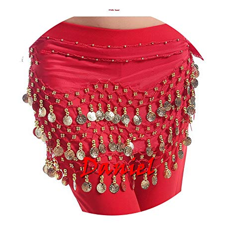 Belly Dance Hip Scarf Accessories Skirt with