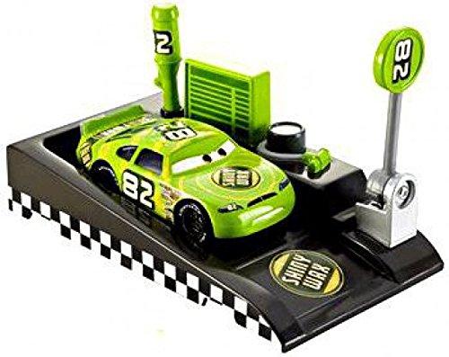 Cars Shiny Wax - Mattel Disney/Pixar Cars Pit Race-Off Shiny Wax with Launcher