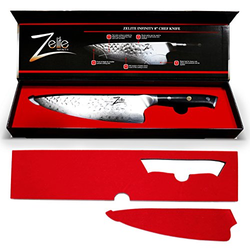 zelite infinity chef knife 8 inch alpha royal series executive chefs edition revolutionary. Black Bedroom Furniture Sets. Home Design Ideas