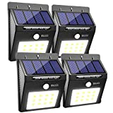 Tools & Hardware : BAXIA TECHNOLOGY Solar Lights Outdoor, Wireless Waterproof Solar Motion Sensor Security Light for Garden,Yard,Fence,Pathyway,Outside Wall[12 Leds,4 Packs]