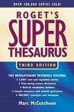 Roget's Superthesaurus, Marc McCutcheon, 1582972540