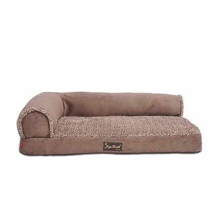 GXFDP Cama para Perros Cama para Mascotas Sofá Medio Perros Grandes Best Pet Supplies Completo Lavado