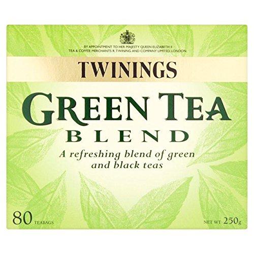 Twinings Green & Black Tea Blend Tea Bags – 80 per pack