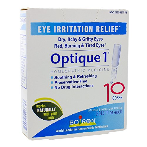 Boiron - Optique 1 Eye Drops, 1 x 10/.12FZ - Homeopathics Optique 1 Eye Drops
