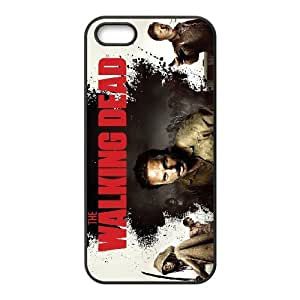FOR Apple Iphone 5 5S Cases -(DXJ PHONE CASE)-TV Show The Walking Dead Pattern-PATTERN 17