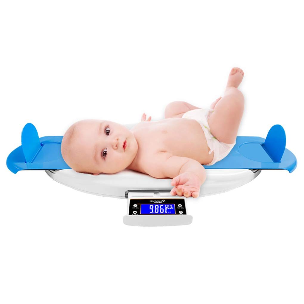 MMZZ Multi-Function Baby Scale,Pet Scale with Tape Measure, Infant Scale Digital Weight with Height Tray, for Toddler/Puppy/Cat/Dog by MMZZ