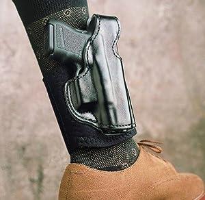 Desantis Die Hard Ankle Holster Glock 43 Left Hand