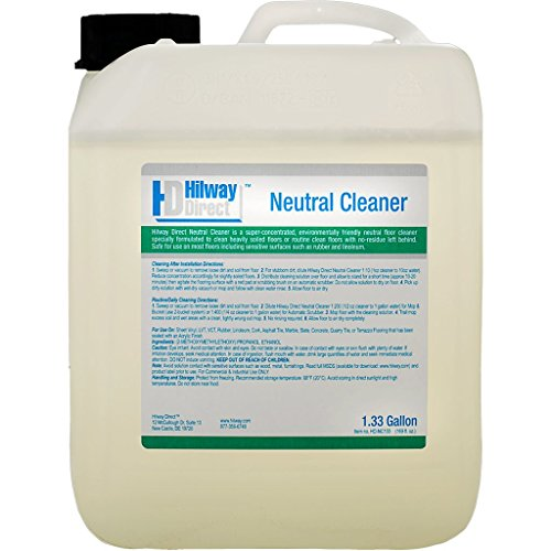 Hilway Direct Neutral Cleaner Concentrate 1.33 Gallons HD-NC133 by Hilway Direct by Hilway Direct