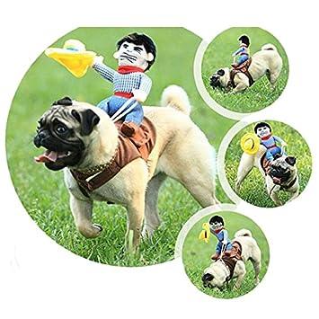Disfraz de perro de Ishowstore para mascotas con diseño de ...