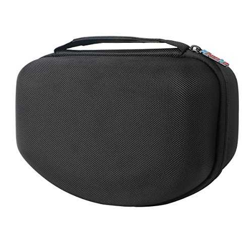 Khanka Hard Case Storage Carrying Bag for 3M Paint Project Respirator/3M 07193 Paint Spray Resp - Black