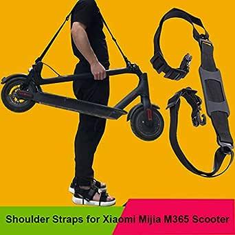 Para Xiaomi Mijia M365 Scooter Skateboard Manija de la mano Correas de hombro de scooter deslizante para eléctrica M365 plegable