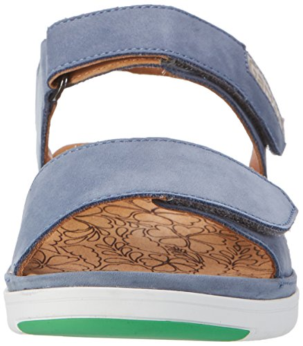 Ganter Vrouwen Gina-g Sandals Blue (jeans / Steen)