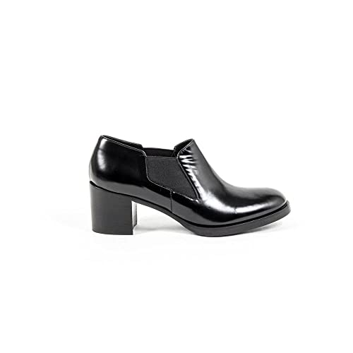 c31604ed653 Versace 19.69 Abbigliamento Sportivo Srl Milano Italia Womens Heeled Shoe  B2368 ABRASIVATO NERO  Amazon.ca  Shoes   Handbags