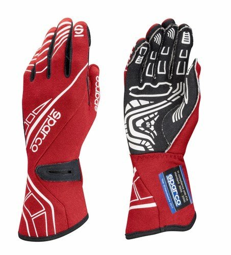 (Sparco Lap RG-5 Racing Gloves 001311 (Size: 10, Red) )
