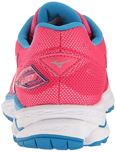 White Mizuno Blue Aster Running Rider Women's 20 Paradise Shoes Wave Pink D q4rPBFqp