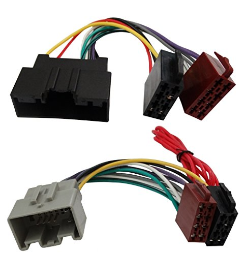 AERZETIX ISO Wiring Harness Adaptor Connector Cable for Car Radio: