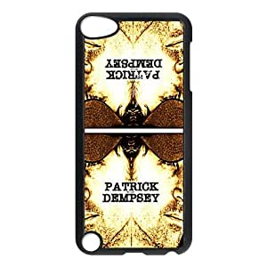 Personalized Custom Grey's Anatomy lead role Patrick Dempsey Ideas Printed for IPod Touch 5/5G/5th Phone Case Cover--WSM-051501-055