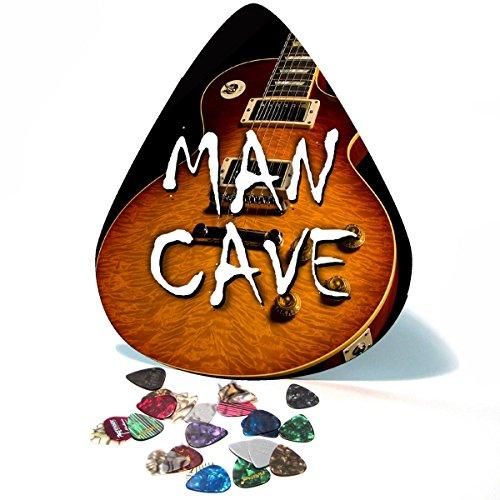 Gibson Les Paul Man Cave Giant Guitar Pick / Wall Art