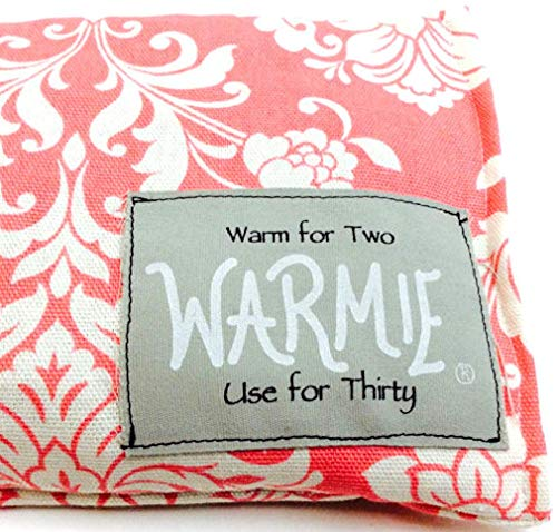 Warmies Microwaveable Heating Pad and Cooling Wrap for Pain, Migraine, Stress and Anxiety Relief (Rice Filling)