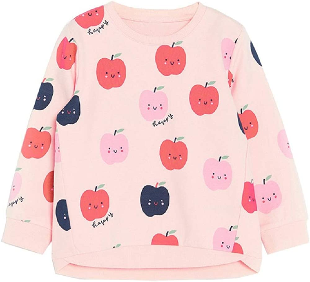 Hongshilian Unisex Kids Cute Cartoon Cotton Sweater Shirt